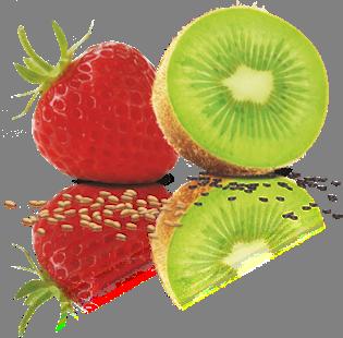 kiwi+erdbeere